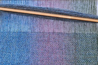 Kauni rigid heddle weaving