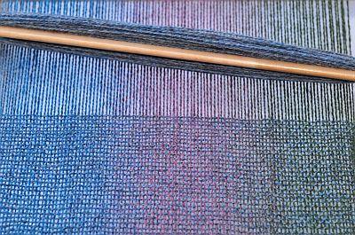 Kauni rigid heddle weaving