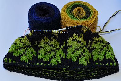autumn hat aus Kauni