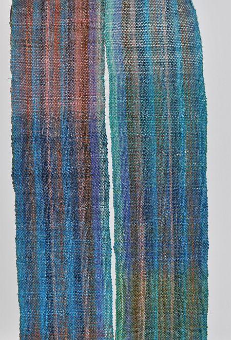 Noro SilkGarden Sock gewebter schal