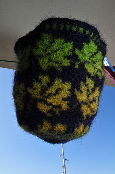 Autumn hat kauni felting filzen