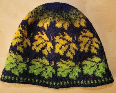 autumn hat kauni handmade