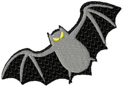 Stickmuster freebie halloween fledermaus bat