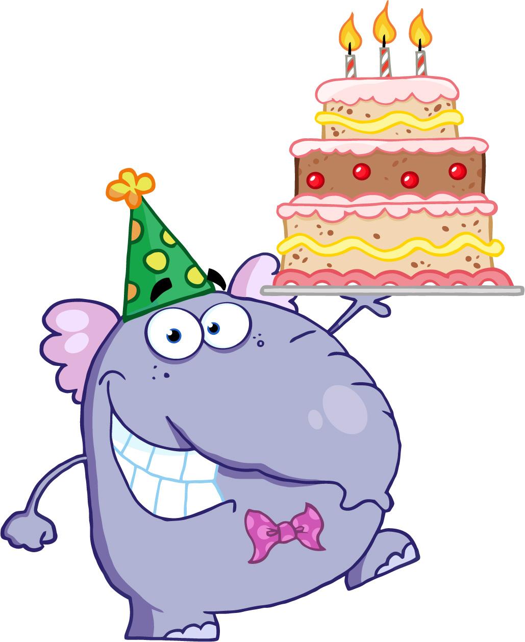 Jpg Cartoon Elephant Birthday Cake Faserfimmel De