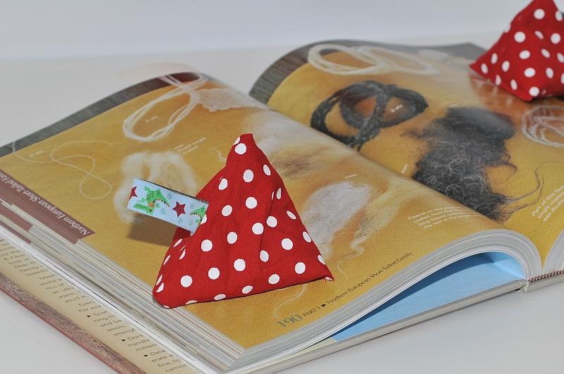 Reste-Idee: Buch-Offenhalter
