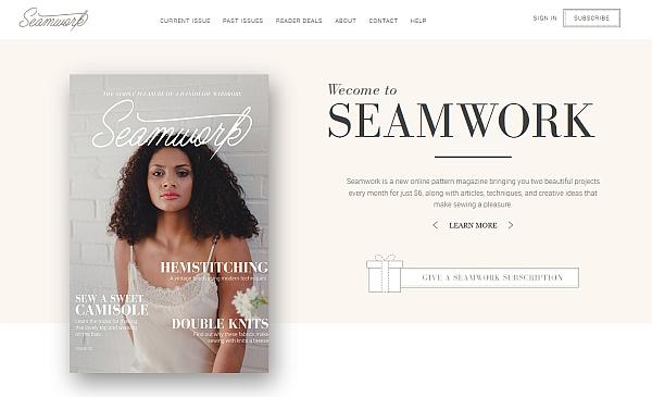 Kennt Ihr schon Seamwork Magazine?